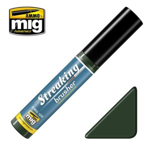 AMMO 1256 STREAKING BRUSHER GREEN-GREY GRIME 10ml