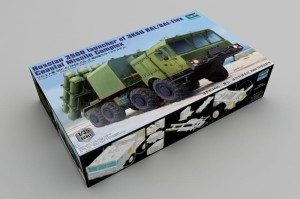 TRUMPETER 01052 1:35 Russian 3S60 launcher of 3K60 BAL/BAL-Elex Coastal Missile Complex