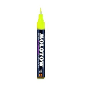 MOLOTOW GRAFX UV FLUORESCENT YELLOW (filc: pędzelek)