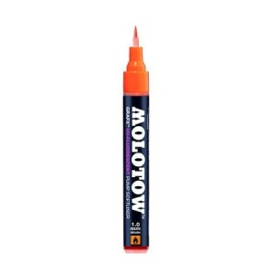 MOLOTOW GRAFX UV FLUORESCENT ORANGE (filc: pędzelek)