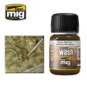 AMMO 1000 WASH BROWN FOR GERMAN DARK YELLOW 35ml