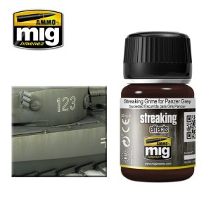 AMMO 1202 STREAKING GRIME FOR PANZER GREY 35ml