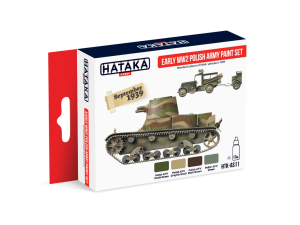 Hataka AS11 Early World War II Polish Army [PAINT SET]