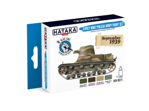 Hataka BS11 Early World War II Polish Army [PAINT SET]
