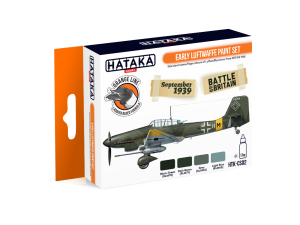 Hataka CS02 Early Luftwaffe [PAINT SET]