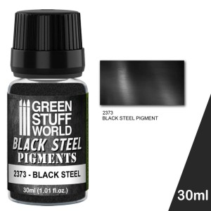 GSW 2373 PIGMENT BLACK STEEL 30ml