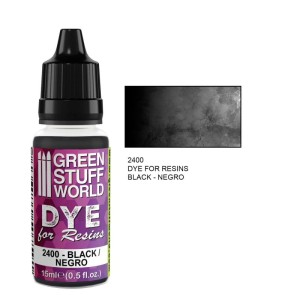 GSW 2400 DYE FOR RESINS - BLACK (barwnik do żywicy) 17ml