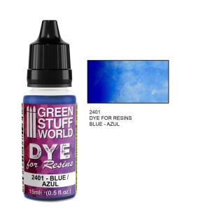 GSW 2401 DYE FOR RESINS - BLUE (barwnik do żywicy) 17ml