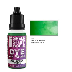 GSW 2402 DYE FOR RESINS - GREEN (barwnik do żywicy) 17ml