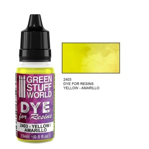 GSW 2403 DYE FOR RESINS - YELLOW (barwnik do żywicy) 17ml