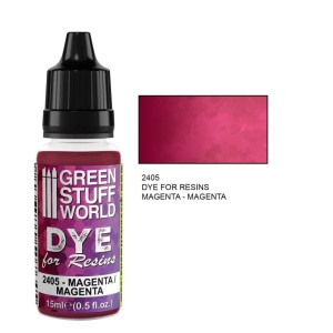 GSW 2405 DYE FOR RESINS - MAGENTA (barwnik do żywicy) 17ml