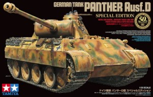 TAMIYA 25182 1:35 Pz.Kpfw.V Ausf.D Panther 50th Anniversary Special Edition