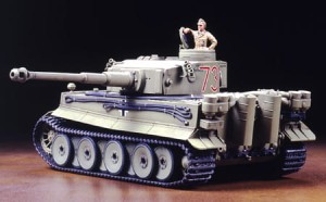 TAMIYA 32529 1:48 German Tiger I Initial Production