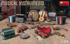 MINIART 35622 1:35 Musical Instruments