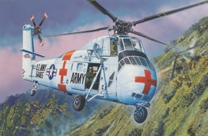 TRUMPETER 02883 1:48 CH-34 US ARMY Rescue