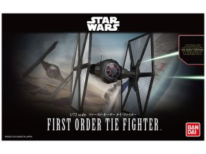 BANDAI 03218 1:72 FIRST ORDER TIE FIGHTER