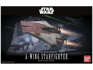 BANDAI 06320 1:72 A-WING STARFIGHTER