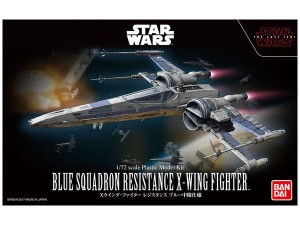 BANDAI 23296 1:72 BLUE SQUADRON RESISTAN CE X-WING FIGHTER