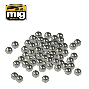 AMMO 8003 STAINLESS STEEL PAINT MIXERS (70-80pcs)