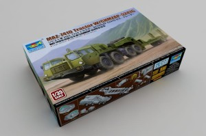 TRUMPETER 01056 1:35 MAZ-7410 TRACTOR  WITH CHMZAP 5247G