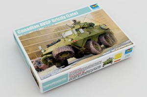 TRUMPETER 01505 1:35 Canadian Grizzly 6×6 APC
