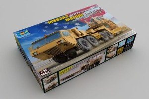 TRUMPETER 01055 1:35 M983A2 HEMTT Tractor with M870A1 Semi-Trailer
