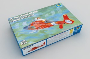 TRUMPETER 05107 1:35 US Coast Guard HH-65C Dolphin Helicopter