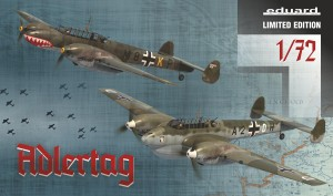 EDUARD 2132 1:72 Bf 110C/D ADLERTAG [LIMITED EDITION]