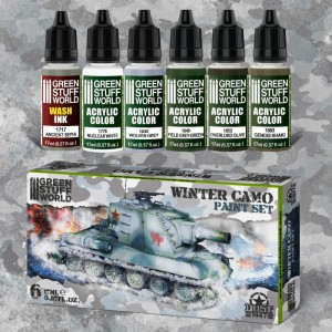 GSW 10272 PAINT SET - WINTER CAMO [PAINT SET]