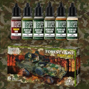 GSW 10273 PAINT SET- FOREST CAMO [PAINT SET]