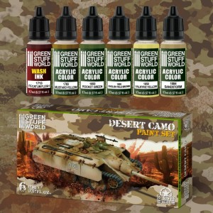 GSW 10274 PAINT SET- DESERT CAMO [PAINT SET]