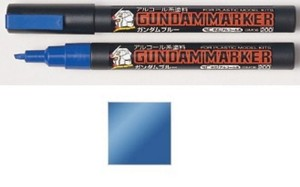 GUNDAM MARKER GM-17 METALIC BLUE