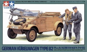 TAMIYA 32501 1:48 German VW Kubelwagen type 82