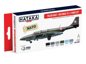 Hataka AS46 Polish Navy / Air Force TS-11 [PAINT SET]