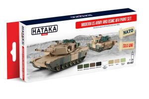 Hataka AS67 Modern US Army and USMC AFV [PAINT SET]