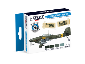 Hataka BS02 Early Luftwaffe [PAINT SET]