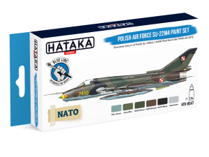 Hataka BS47 Polish Air Force Su-22M4 [PAINT SET]