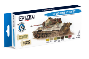 Hataka BS94 Late WW2 German AFV [PAINT SET]