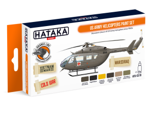 Hataka CS19 US Army Helicopters [PAINT SET]