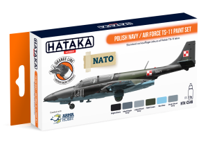 Hataka CS46 Polish Navy / Air Force TS-11 [PAINT SET]