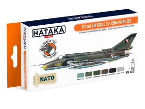 Hataka CS47 Polish Air Force Su-22M4 [PAINT SET]
