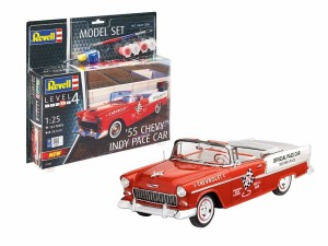 REVELL 67686 1:25 '55 Chevy Indy Pace Car [MODEL SET]