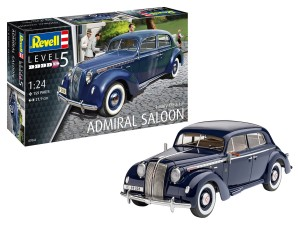 REVELL 67042 1:24 Luxury Class Car Admiral Saloon [MODEL SET]