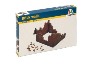 ITALERI 0405 1:35 BRICK WALLS