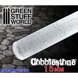 GSW 1625 ROLLING PIN COBBLESTONE 15mm