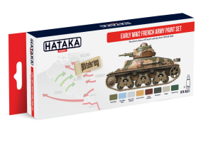 HATAKA AS21 Early WW2 French Army [PAINT SET]