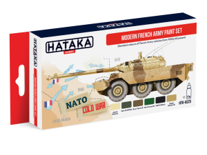 HATAKA AS25 Modern French Army [PAINT SET]