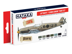 "HATAKA AS32 Luftwaffe ""Legion Condor"" [PAINT SET]"