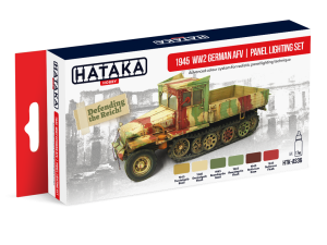 HATAKA AS36 1945 WW2 German AFV [PANEL LIGHTING SET]