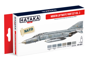 HATAKA AS61 Modern Luftwaffe vol. 3 [PAINT SET]